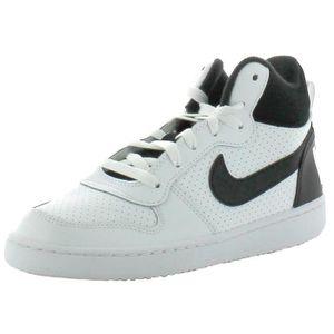 Chaussures Nike Court Borough Mid Prem Gris Gris - Achat / Vente basket  - Soldes* dès le 27 juin ! Cdiscount