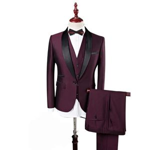 COSTUME - TAILLEUR Homme Costume 3 Pièces Rond Châle Revers Couleur P 38abff055c1