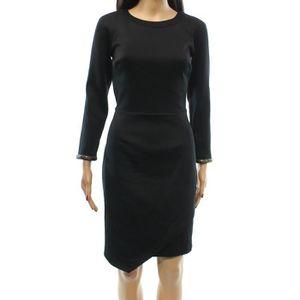 339613c8d91 ROBE nouvelle robe noire à manches courtes pour femmes
