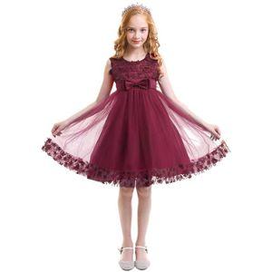 11934b4e78d ROBE IBTOM CASTLE Enfant Fille Robe en Dentelle Florale ...
