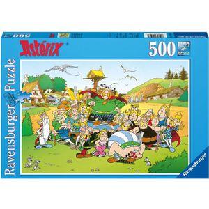 PUZZLE Puzzle 500 pcs Asterix Au Village