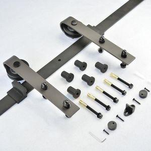 PORTE COULISSANTE 6FT barre porte coulissante à grille Rail à glissi