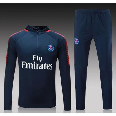 2018 Training Jogging Ensemble Survêtement maillots de Footall Homme Femme  Marque Paris Saint-Germain Coton Hooded Hoodies ceed77823ea