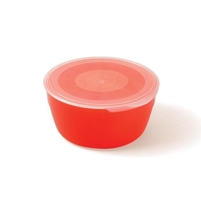 Plastorex boîte de conservation micro ondable 45 cl polypropylène agrumes