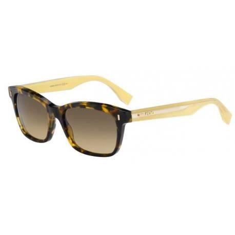 Achetez Lunettes de soleil Fendi Femme FF 0086/S HJV (ED) marron, havane et jaune