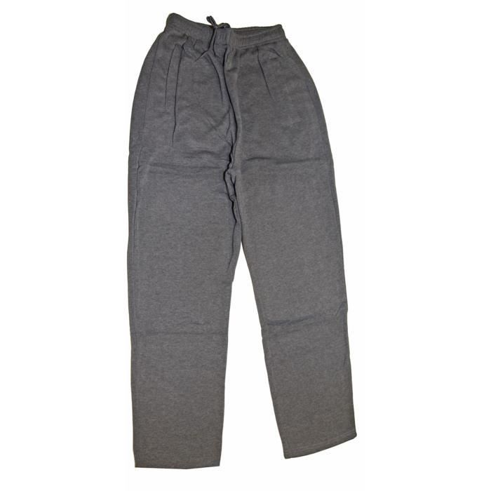 pantalon droit bas de jogging sport surv tement d tente homme pierre cedric gris achat. Black Bedroom Furniture Sets. Home Design Ideas