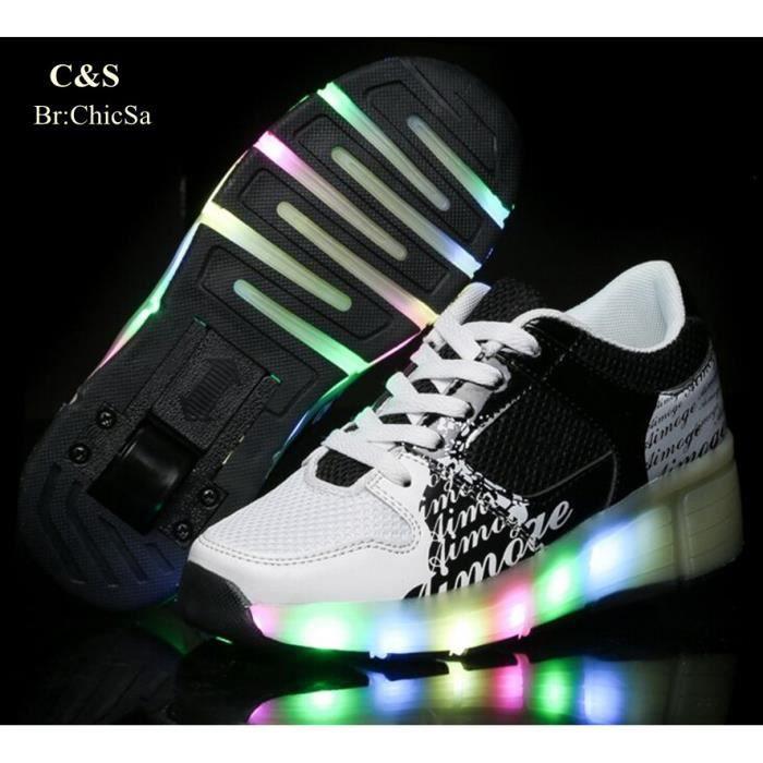 LED Éclairage Homme et Femme Sport Chaussure He...