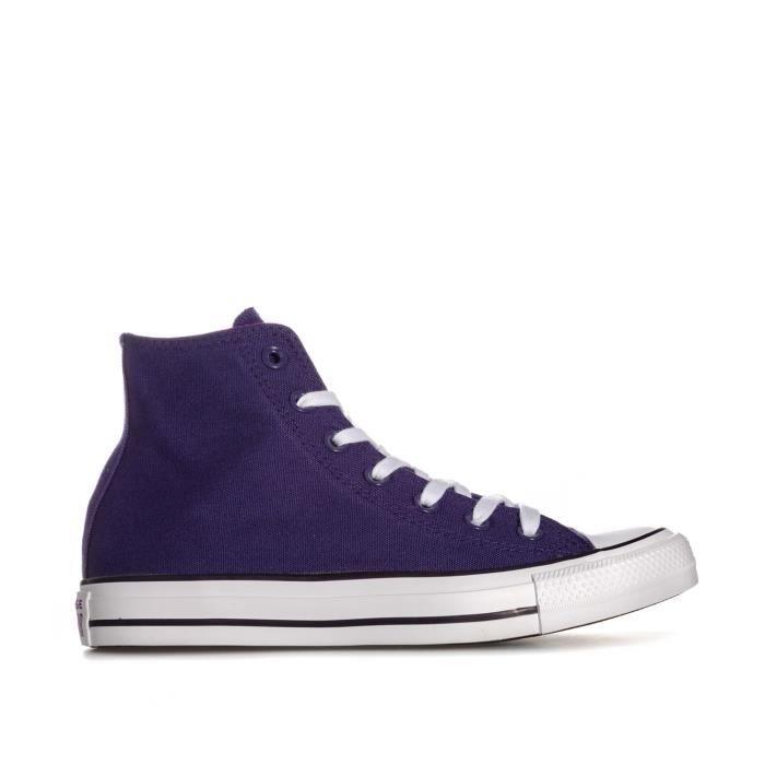 8809a436040c4 Baskets Converse Chuck Taylor All Star Hi pour femme en violet ...