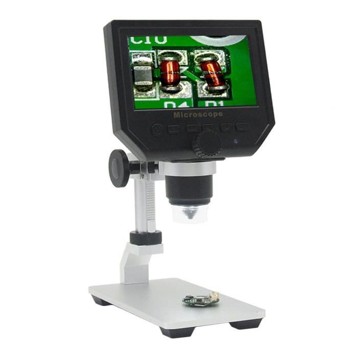MICROSCOPE OPTIQUE Microscope numérique Portable affichage écran OLED