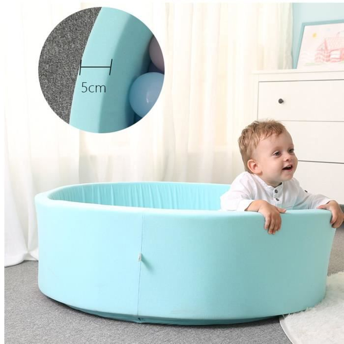 40aa9869fa4f1 Grande PISCINE A BALLES bleu - bébé piscine de jeu (Age   3 ans ...