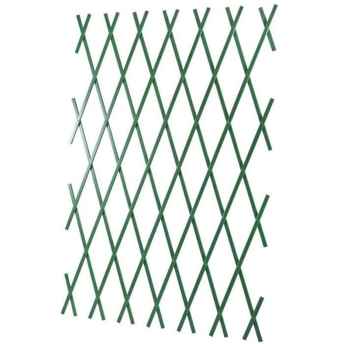 Treillis jardin couleur vert - Achat / Vente pas cher