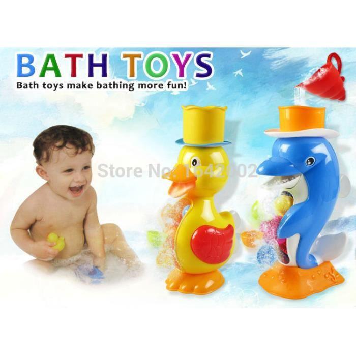 dauphins jouets de bain salle de bain d\'eau jouets de l\'eau bébé ...