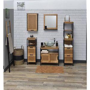 porte serviette en bambou achat vente pas cher. Black Bedroom Furniture Sets. Home Design Ideas