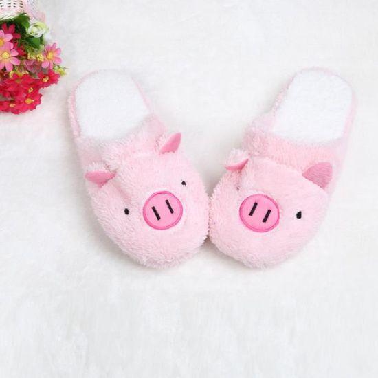 36 Chaussons Chaussures Femmes Maison Porc 40 Rose Sol Belle De Souple Stripe bf76gyIYv