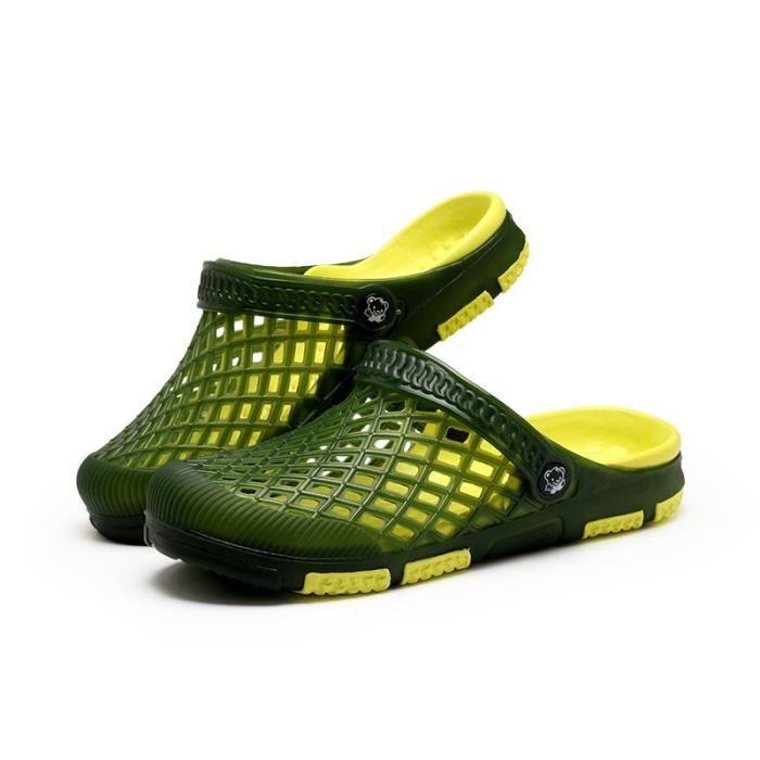 Printemps - été Chaussures style britannique Sandales d'homme iSNOLZC