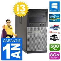 ORDI BUREAU RECONDITIONNÉ PC Tour Dell 7020 Intel Core i3-4130 RAM 8Go Disqu
