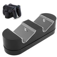 CHARGEUR CONSOLE chargeur double dock ps4