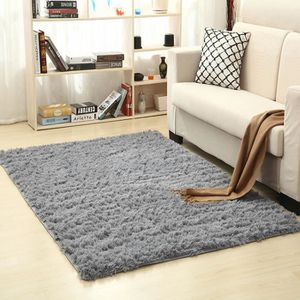 TAPIS tapis salon chambre 140*200cm tapis gris décoratio