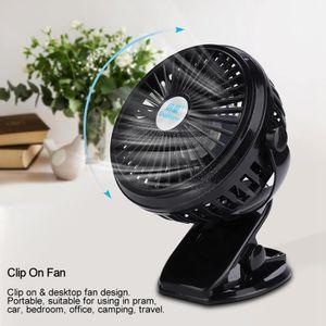 Mini Ventilateur /à Clipper,Ventilateur A Pince Usb Silencieux,Mini Ventilateur Portable Usb Silencieux,Rotation De 360 /°,Fonction DAromath/éRapie,Vent Puissant Pour Poussette,Camping,Bureau,Voiture