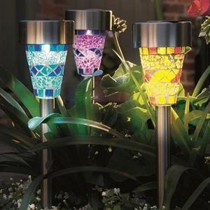 LAMPE DE JARDIN  6pcs / lot   led lampe de jardin solaire exterieur