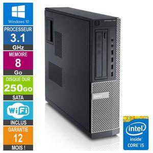 UNITÉ CENTRALE  PC Dell Optiplex 790 DT I5-2400 3.10GHz 8Go/250Go