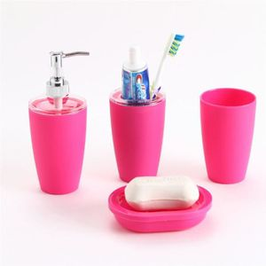 Set accessoires salle de bain rose - Achat / Vente pas cher