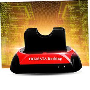 DISQUE DUR EXTERNE Dual HDD Station Accueil Dock pour Disque Dur 2.5