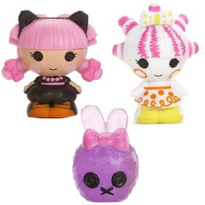 FIGURINE - PERSONNAGE Lalaloopsy TINIES™ - Pack 3 - Design 3 - Mini Poup
