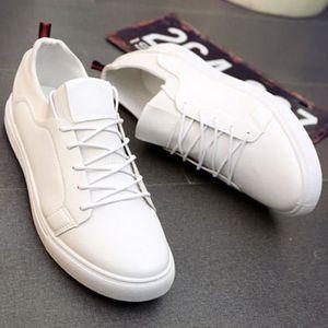 Basket Hommes Léger Classique Chaussure Homme Sport BXXXZ198Blanc40 ... bf74d215db7c