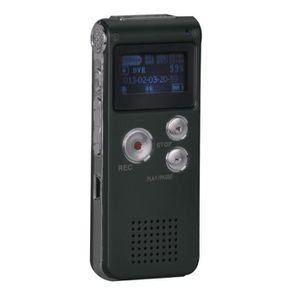 MAGNETOSCOPE NUMERIQUE 8GB Numérique Enregistreur Audio Portable MP3 Lect