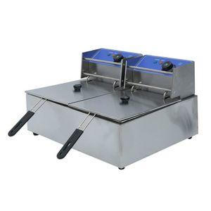 FRITEUSE ELECTRIQUE 220V 2X10L Friteuse électrique Double Panier - Ino