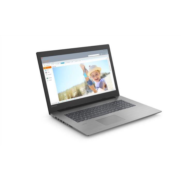"PC portable - LENOVO Ideapad 330-17ICH - 17""FHD - i7-8750H - RAM 16Go - Stockage 1To + 256Go SS"
