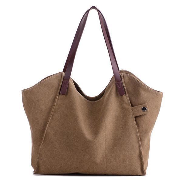 SBBKO3478Femmes durable sac à main épais sac à bandoulière occasionnels grande capacité sac à bandoulière Café