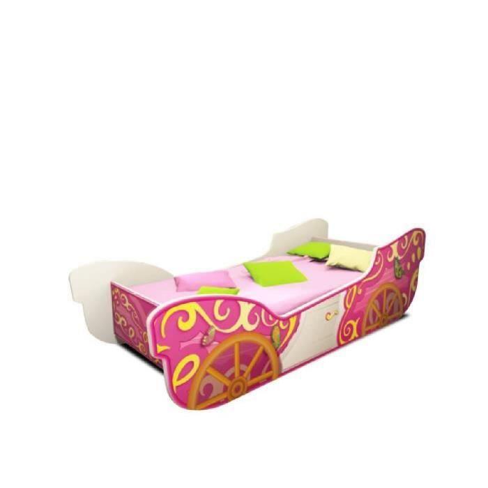 latest lit complet lit enfant carosse avec sommier et matelas x with lit enfant carrosse. Black Bedroom Furniture Sets. Home Design Ideas