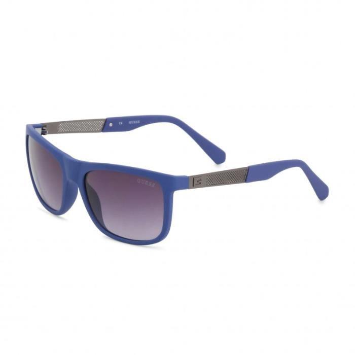 sélection premium 59c53 02b0d Guess Lunettes de soleil - Bleu Homme-46142