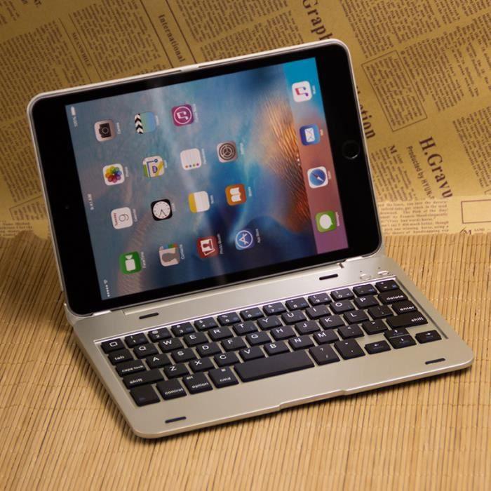 tui clavier bluetooth sans fil pour ipad mini 4 dor e prix pas cher cdiscount. Black Bedroom Furniture Sets. Home Design Ideas