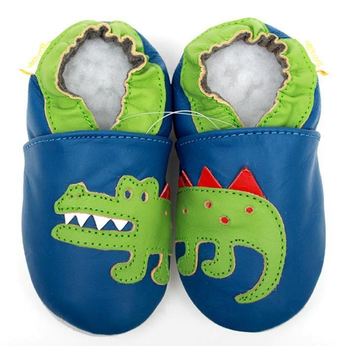Cuir bébé Chaussures Crocodile bébé mocassins Animal Kids Toddler Boy enfant chaussures