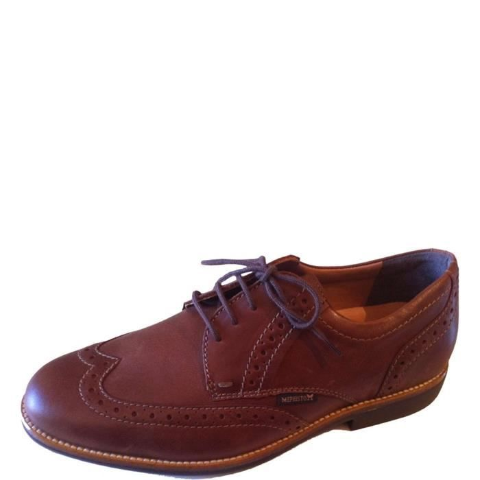 Mephisto Lace Shoes Homme Brown fMWxGbJDW