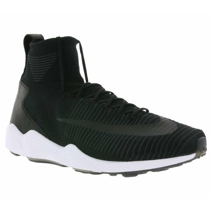 hot sale online 93350 c42a6 ... Noir 844626 001. BASKET NIKE Zoom Air Mercurial XI Flyknit Hommes  Sneaker
