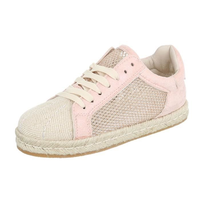 Chaussures Sneakers Sport Laceter Femme Vieux Rose 41 WD29IEHY