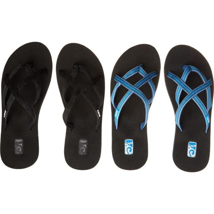 W Olowahu 2 Pack Strappy Flip-flop ABGGJ Taille-42