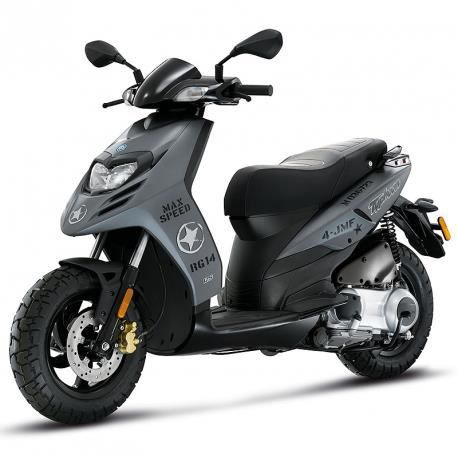 Piaggio typhoon 50cc 2t gris mat achat vente scooter for Rose city motors michigan