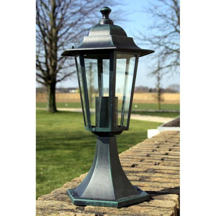 lampe pour allee de jardin achat vente lampe pour allee de jardin pas cher cdiscount. Black Bedroom Furniture Sets. Home Design Ideas