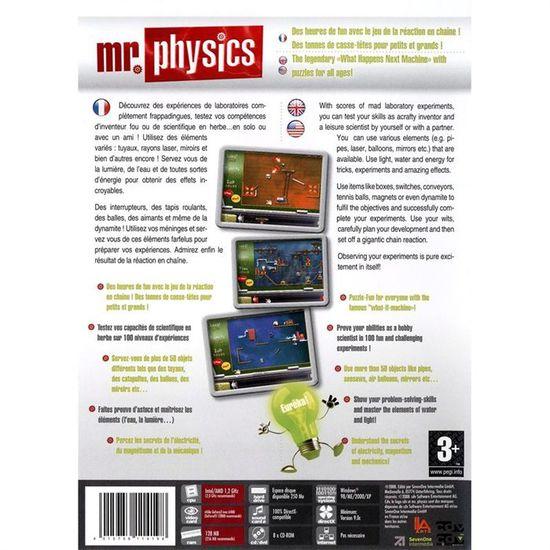 MISTER PHYSICS / JEU PC CD-ROM