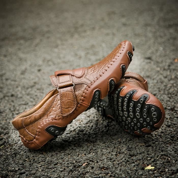 Chaussures pois jeunes/Chaussures de sport pour hommes /Pied chaussures de conduite/Respirants chaussures d'Angleterre… 0nYyp0XN
