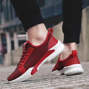 chaussure multisport pour Hommerouge 9.5 Chaussures à lacets Casual Design simple Chaussures Mesh respirant Chaussures_5145 6gnRtQ