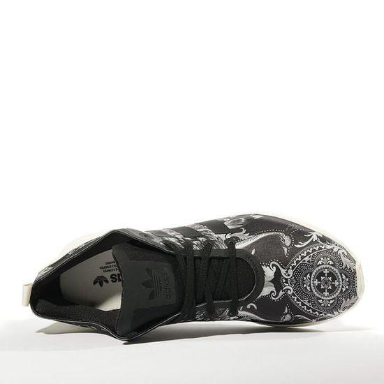 best authentic d4e99 d607b Chaussures ZX Flux ADV Smooth Noir Femme Adidas Noir Noir - Achat   Vente  basket - Cdiscount