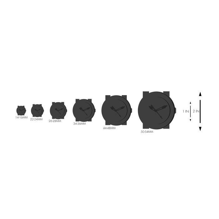 Marc Jacobs Classic » Quartz Montre en acier inoxydable Casual, Couleur: tons argent (modèle: Mj3581) JNDXU