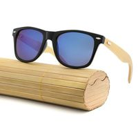LUNETTES DE SOLEIL New Bamboo Lunettes de soleil en bois bois des fem