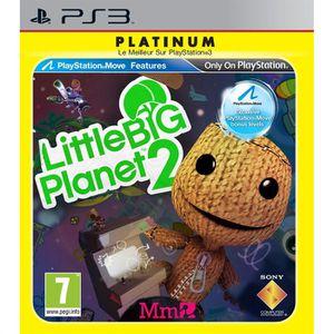 JEU PS3 LITTLE BIG PLANET 2 PLATINUM / Jeu console PS3